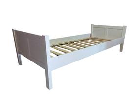 Łóżko drewniane Manty pojedyncze na nogach