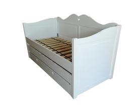 Łóżko Kaya piętrowe niskie