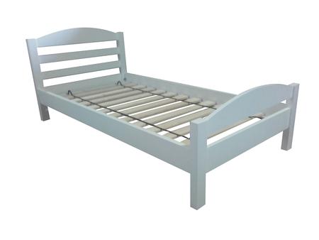 Łóżko drewniane Furu z łukiem , (1) -