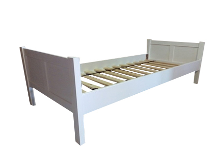Łóżko drewniane Manty pojedyncze na nogach , (1) -