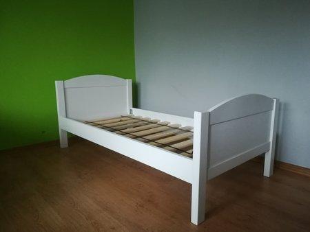 Łóżko drewniane Sosenka, (2) -