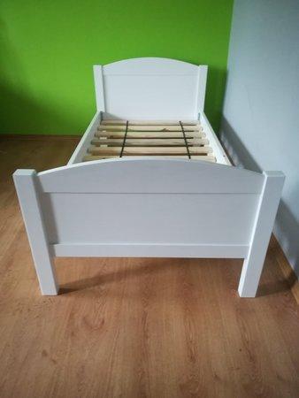 Łóżko drewniane Sosenka, (1) -