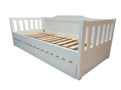 Łóżko drewniane Furu sofa , (1) -