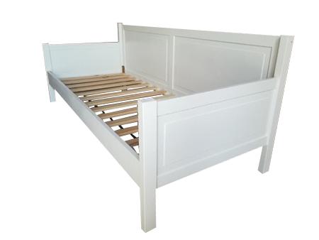 Łóżko drewniane Manty sofa z podłokietnikami, (1) -