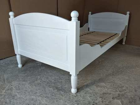 Łóżko pojedyncze z kulkami, (4) -
