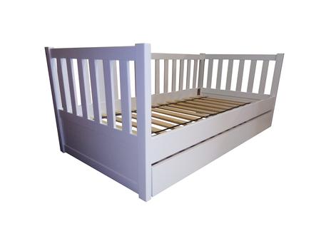 Łóżko drewniane Furu sofa z szuflada , (1) -