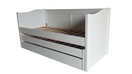 Łóżko piętrowe niskie , (1) -