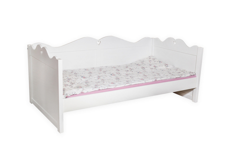 Łóżko drewniane Kaya, (1) -
