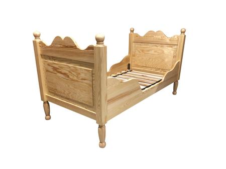 Łóżko dziecięce Ami, (1) -
