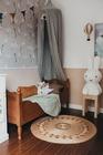 Łóżko dziecięce Letto z ornamentem sosnowe , (4) -